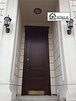 Дверь входная с доборной доской
