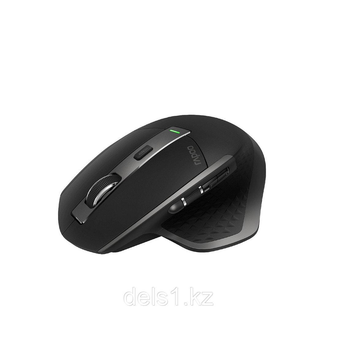 Мышь, Rapoo, MT750, Оптическая, колесо прокрутки,3200dpi, Bluetooth 3.0/4.0, Беспроводной 2.4 ГГц
