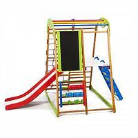 Детский спортивный комплекс для дома «BabyWood Plus 3»