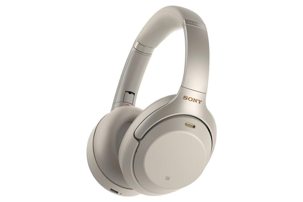 Sony WH-1000XM3 Headphones Silver