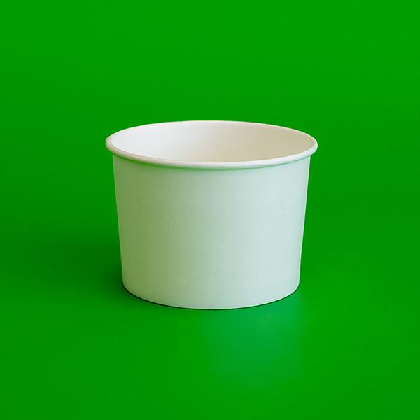 Бумажная креманка белая 145мл