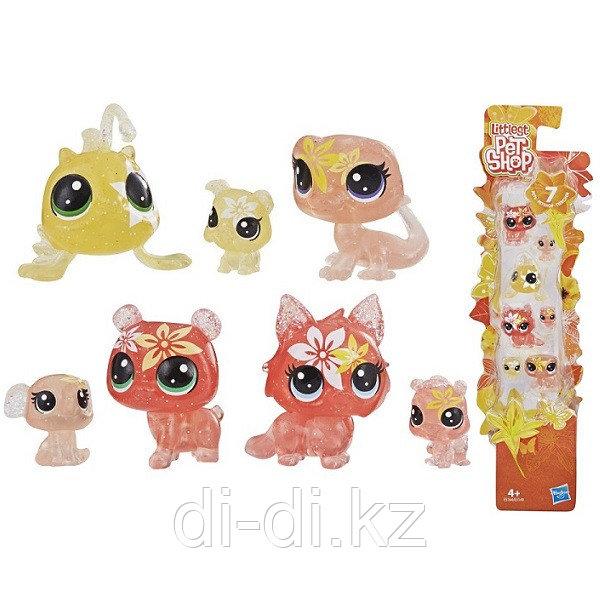 """Hasbro Littlest Pet Shop Литлс Пет Шоп Игровой набор """"7 ЦВЕТОЧНЫХ ПЕТОВ"""""""