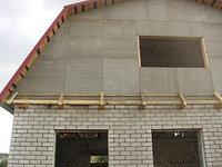Система подшивки карнизов, фронтонов, возведение внутренних и наружных стен ЦСП