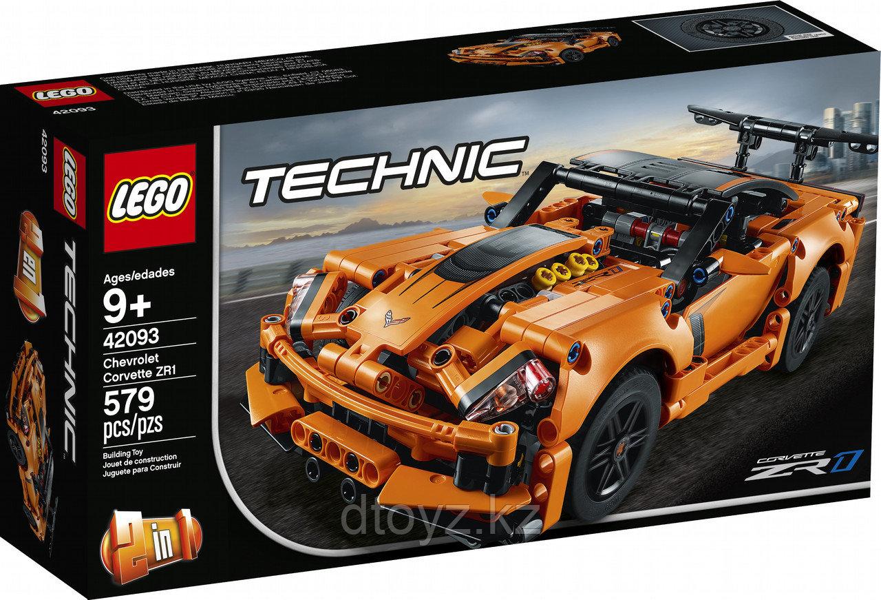 Lego Technic 42093 Суперавтомобиль Chevrolet Corvette ZR1, Лего Техник