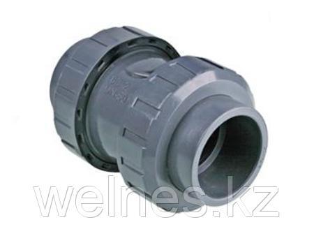 Обратный клапан PVC (63 мм)