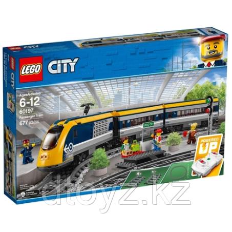 Lego City 60197 Пассажирский поезд, Лего Город Сити