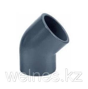 Полуотвод PVC (63 мм)