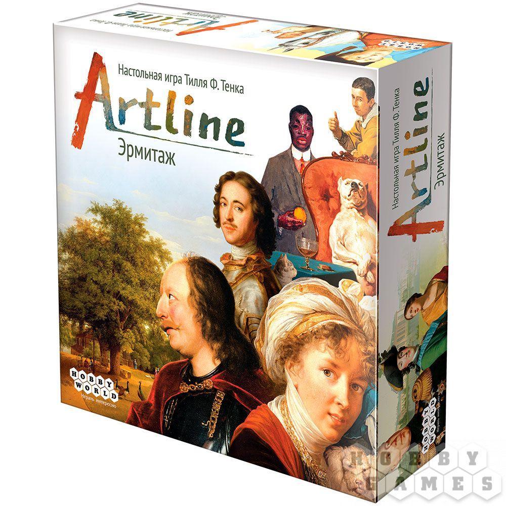Настольная игра Artline. Эрмитаж