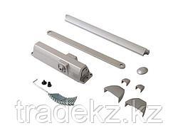 Доводчик дверной Dorma TS 90 Impulse EN3/4 со скользящим рычагом, серебро