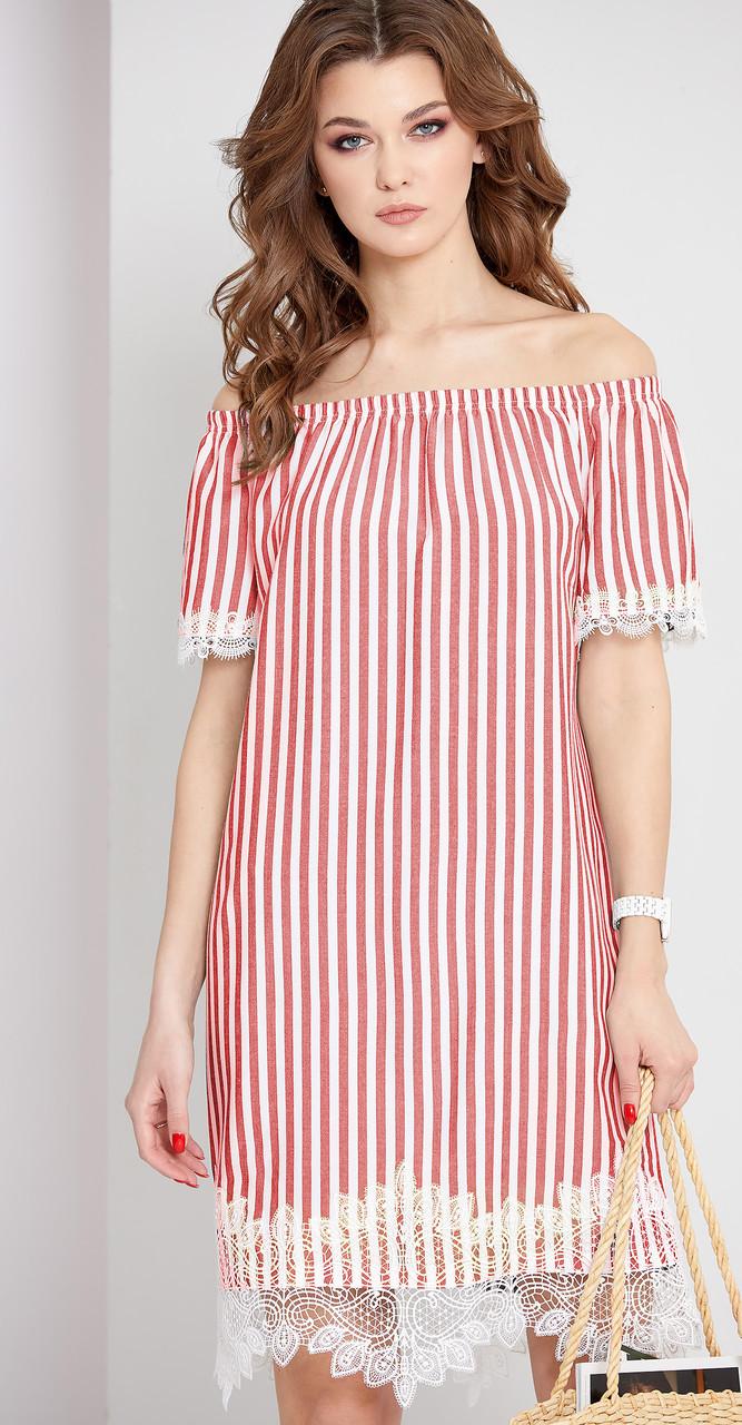 Платье EOLA-1662, красный, 44