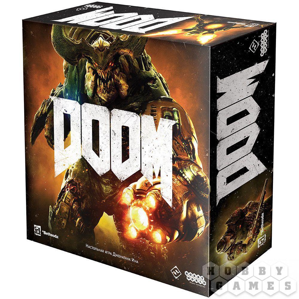 Настольная игра Doom русская версия