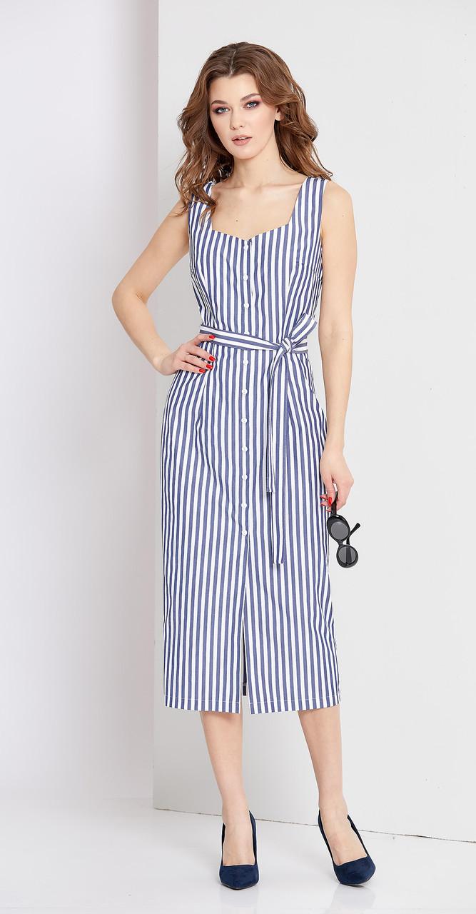 Платье EOLA-1669, синий, 44
