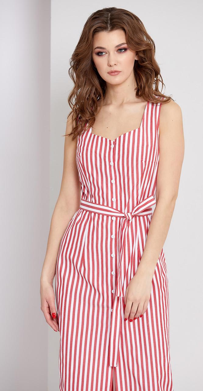 Платье EOLA-1669/1, красный, 44