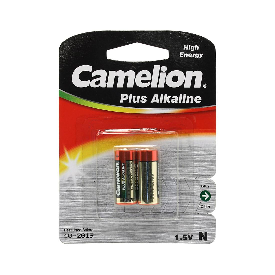 Батарейка  CAMELION  LR1-BP2  Alkaline  Тип N  2 шт.  Блистер