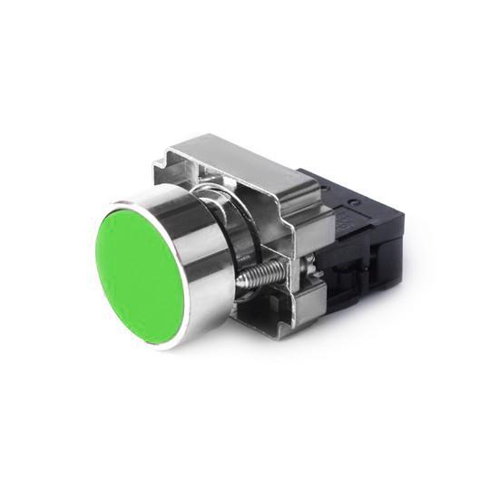 Кнопка открытая, Deluxe, ХВ2-ВА31 (зелёная)