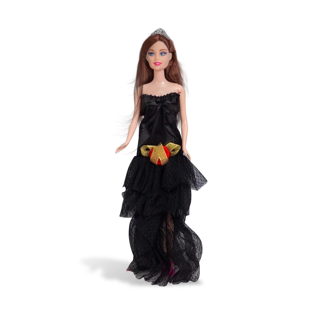 Кукла 29см, X Game kids, 9314, Серия Emily Сказочный бал, Подарочная упаковка, Чёрное платье, Пластик, Цветная