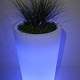 Светящееся кашпо, светящийся горшок LED 545-720-1100, фото 3