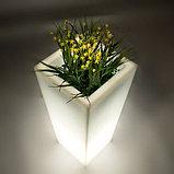 Светящееся кашпо, светящийся горшок LED 250 170 560, фото 3