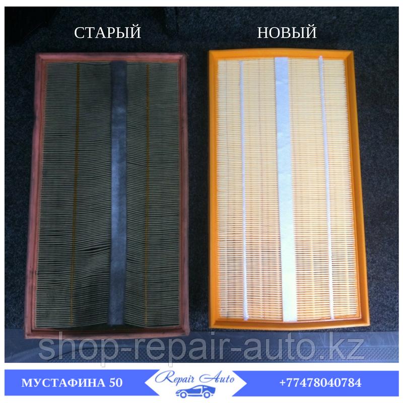 Замена воздушного фильтра двигателя автомобиля в г. Нур-Султан (Астана)