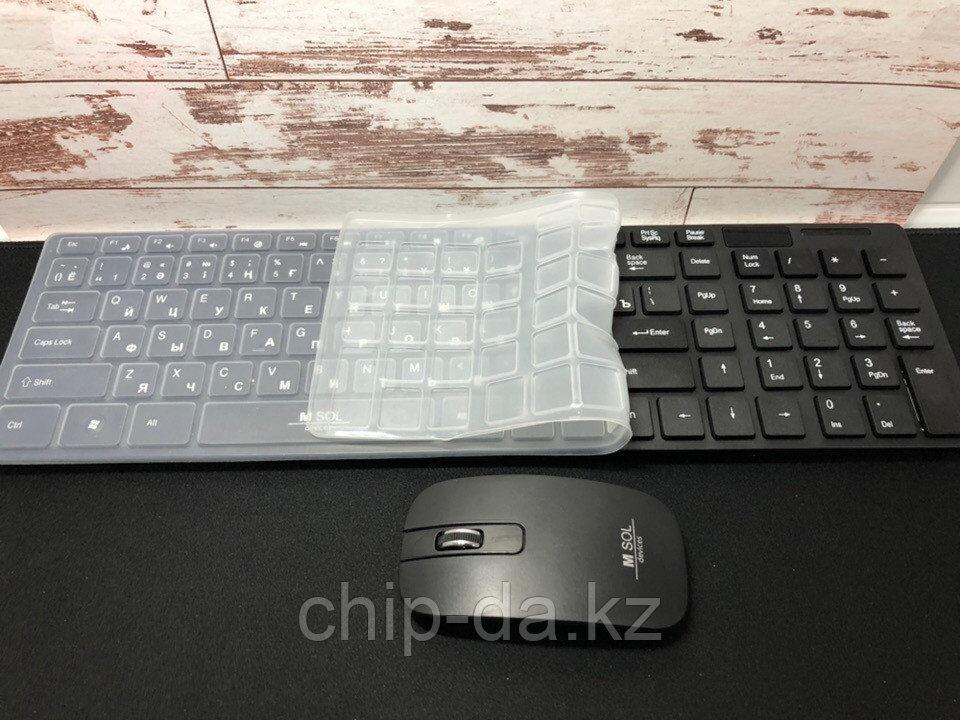 Беспроводной комплект клавиатура и мышь M-sol k906