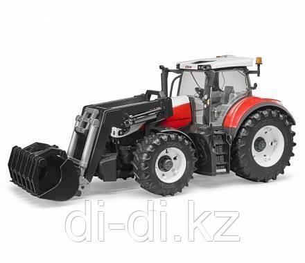 Трактор Steyr 6300 Terrus CVT c погрузчиком