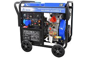 Инверторный дизельный сварочный генератор TSS DGW 6.0/200ED-R