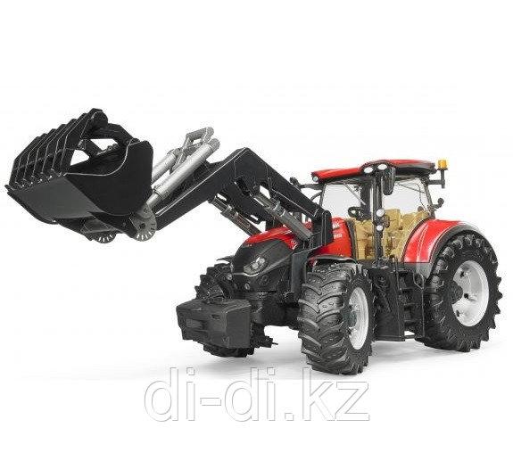 Трактор Case IH Optum 300 CVX с погрузчиком