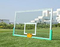 Щит баскетбольный 1800*1030 мм из оргстекла без кольца и сетки, фото 1