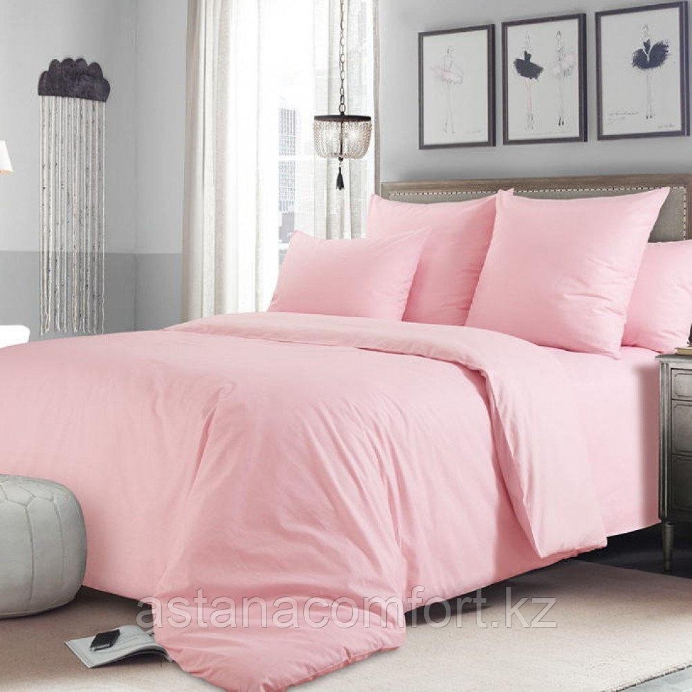 Комплект постельного белья «Розовый»  1,5-спальный, бязь. Россия