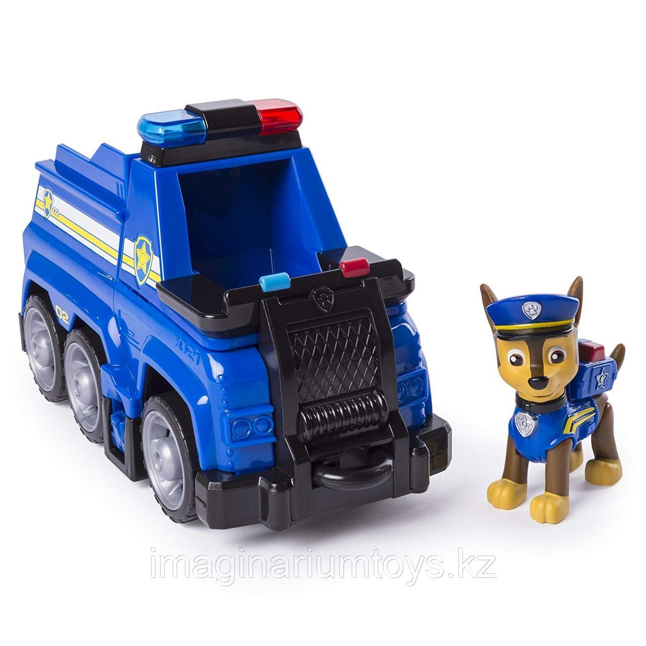 Щенячий патруль «Гонщик» с большим транспортом. Новая серия.
