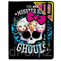 Monster High Набор детской декоративной косметики в чехле для планшета