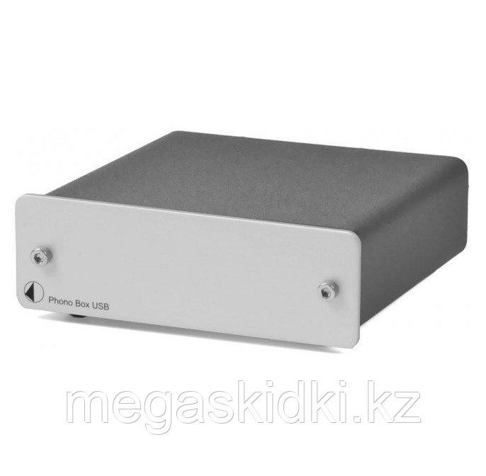 Фонокорректор Pro-Ject Phono Box USB Серебро
