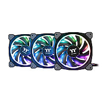 Кулер для кейсаThermaltake Riing Trio 12 RGB TT Premium Edition 3-Fan Pack (CL-F072-PL12SW-A)