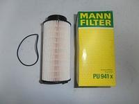Топливный фильтр mann PU 941/1 x (Элемент)