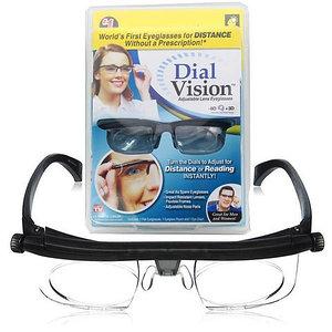 Очки с регулировкой линз Dial Vision [от -3D до +3D]