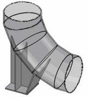 Опоры сварных отводов – ТС-631