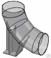 ОСТ 34-10-621-93 Опоры сварных отводов