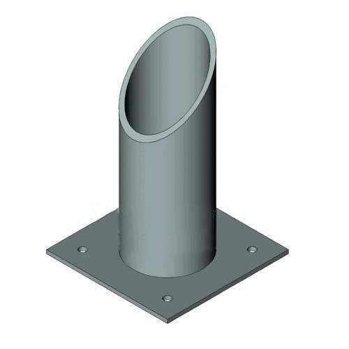 ОСТ 34-10-622-93 Опоры трубчатые крутоизогнутых отводов