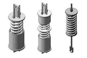 ОСТ 34-10-743-93 Блок пружинный для пружинных подвесок