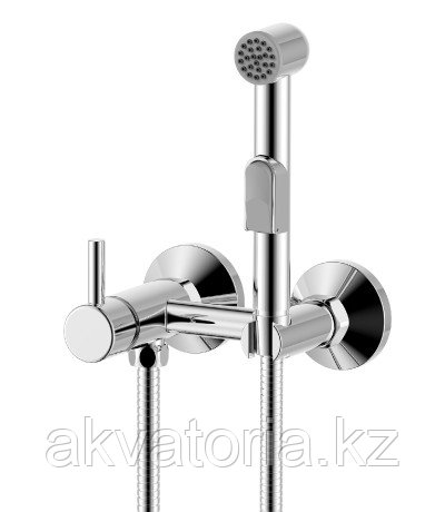 Смеситель одноручный (25 мм) с гигиеническим душем, хром   X25-52