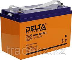 Аккумулятор DELTA DTM 12100 L, 12V/100 A*ч