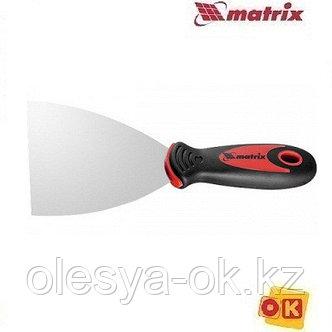 Шпательная лопатка 100 мм, нерж. сталь. MATRIX, фото 2