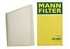 Салонный фильтр Mann CU 3461