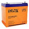 Аккумулятор DELTA DTM 1255 L, 12V/55 A*ч