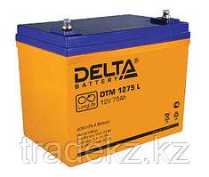 Аккумулятор DELTA DTM 1275 L, 12V/75 A*ч