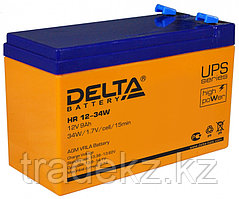 Аккумулятор DELTA HR 12-34 W, 12V/9A*ч