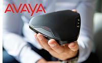 Выбирайте способ и место конференции с помощью персонального конференц-телефона Avaya B109. Премия за превосходный дизайн.