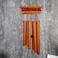 "Музыка ветра бамбук ""Крыша"" 8 трубок 60 см, фото 1"