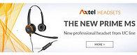 Релиз новой серии гарнитур от Axtel PRIME MS USB