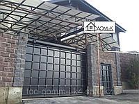 Ворота металлические откатные, фото 1